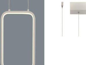 Φωτιστικό Οροφής Led V30LEDP18WH 11W 3000K 1044lm 18X11XH136 White Aca Decor