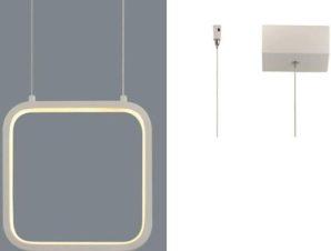 Φωτιστικό Οροφής Led V30LEDP22WH 9W 3000K 870lm 22X11XH129 White Aca Decor