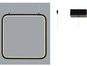 Φωτιστικό Οροφής Led V30LEDP30BK 14W 3000K 1330lm 30X14XH136 Black Aca Decor