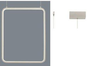 Φωτιστικό Οροφής Led V30LEDP36WH 19W 3000K 1820lm 36X14XH152 White Aca Decor
