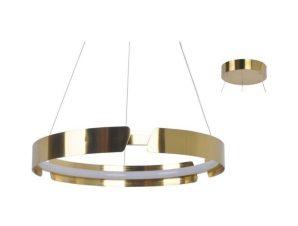 Φωτιστικό Οροφής Led ZM18LEDP60AB 34W 3000K 2720lm D60XH150 Brass Aca Decor