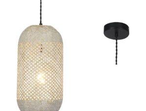 Φωτιστικό Οροφής OD761P20RW 1ΧΕ27 D20XH120 Natural Aca Decor
