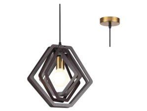 Φωτιστικό Οροφής ZM391P34WDL 1ΧΕ27 D34XH100 Brown Aca Decor
