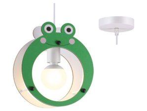 Φωτιστικό Οροφής Παιδικό ZM441P25 1ΧΕ27 Βατραχάκι 24X10XH100 Orange Aca Decor