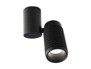 Φωτιστικό Οροφής Σποτ YL10C117BK 1ΧGU10 6,5X13X26 Black Aca Decor