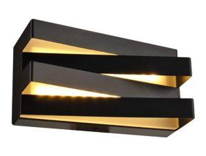 Φωτιστικό Τοίχου – Απλίκα Led V80LEDW20BK 12W 3000K 960lm 20X11X9 Black Aca Decor