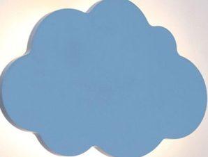 Φωτιστικό Τοίχου Παιδικό Led ZM44LEDW24B 9W 3000K 720lm 24X3,5X16 Blue Aca Decor