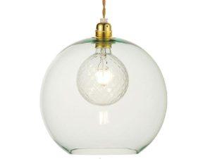 Φωτιστικό Οροφής Κρεμαστό V3643330LG 1ΧΕ27 Φ30ΧΗ120CM Pythia Mint Aca Decor