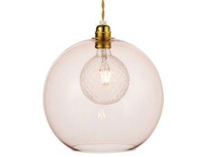 Φωτιστικό Οροφής Κρεμαστό V3643330LP 1ΧΕ27 Φ30ΧΗ120CM Pythia Pink Aca Decor