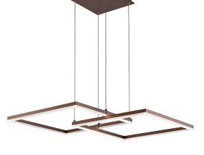 Φωτιστικό Οροφής Led Linus 4173600 Brown Viokef