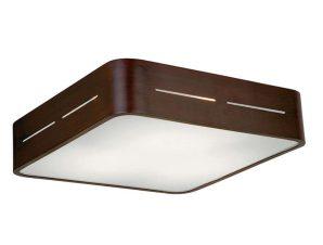 Φωτιστικό Οροφής – Πλαφονιέρα 380X380 Terry 4104301 Wenge Viokef