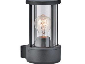Φωτιστικό Τοίχου-Απλίκα Aspen 4198400 Anthracite Viokef