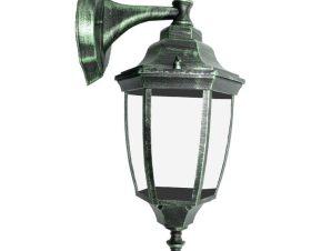 Φωτιστικό Τοίχου – Απλίκα Με Λάμπα Κάτω HI6172V Green-Black Aca
