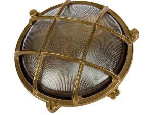 Φωτιστικό Τοίχου Με Πλέγμα D195mm Bronze VK/01051/ABS VKLed