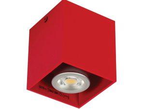Φωτιστικό Οροφής – Σποτ Red 82x82x95 VK/03001/R VKLed