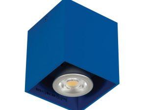 Φωτιστικό Οροφής – Σποτ Blue Dark 82x82x95 VK/03001/DB VKLed