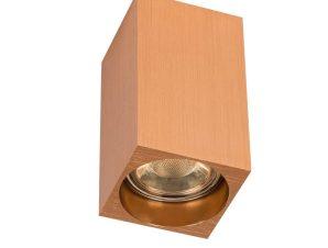 Φωτιστικό Οροφής – Σποτ Copper 56x56x100mm VK/03090CE/COP VKLed