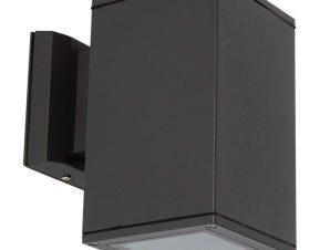 Φωτιστικό Τοίχου 108x180mm Black VK/01064/B VKLed