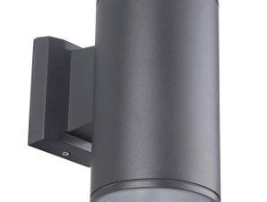Φωτιστικό Τοίχου D108x190mm Anthracite VK/01058/AN VKLed