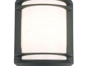 Φωτιστικό Τοίχου Quartz Sensor 7016 Black Nowodvorski