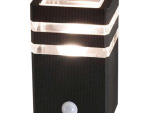 Φωτιστικό Τοίχου Rio Sensor 7017 Black Nowodvorski