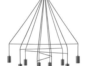 Φωτιστικό Οροφής Imbria X 9680 Black Nowodvorski