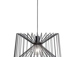 Φωτιστικό Οροφής Ness I 6768 Black Nowodvorski