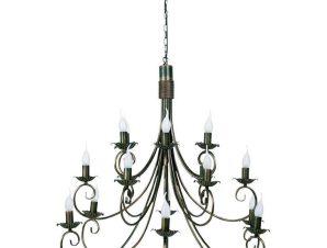 Φωτιστικό Οροφής Plomyk XVIII 493 Black-Copper Nowodvorski