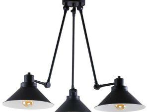Φωτιστικό Οροφής Techno III 9142 Black-White Nowodvorski