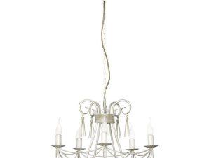 Φωτιστικό Οροφής Twist V 4984 White-Gold Nowodvorski
