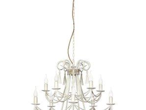 Φωτιστικό Οροφής Twist X 4985 White-Gold Nowodvorski