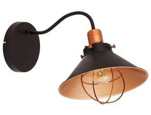 Φωτιστικό Τοίχου Garret I 6442 Chocolate-Copper Nowodvorski