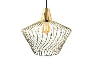 Φωτιστικό Οροφής Wave S 8861 Gold Nowodvorski