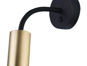 Φωτιστικό Τοίχου Eye Flex S 9067 Brass-Black Nowodvorski