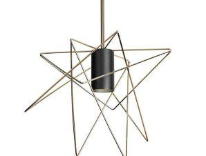 Φωτιστικό Οροφής Gstar 8854 Gold-Black Nowodvorski