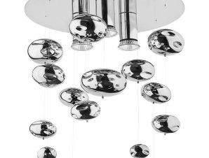 Φωτιστικό Οροφής – Πλαφονιέρα Salva C 5424 Chrome Nowodvorski