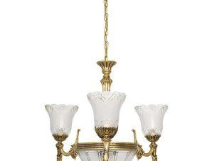 Φωτιστικό Οροφής Pireus VI 3376 Gold Nowodvorski