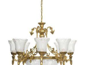 Φωτιστικό Οροφής Pireus Xi 3380 Gold Nowodvorski