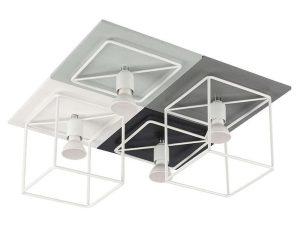 Φωτιστικό Οροφής – Πλαφονιέρα Coba IV 9723 Grey Nowodvorski