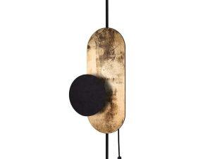 Φωτιστικό Τοίχου Wheel Lux I 8430 Gold-Black Nowodvorski