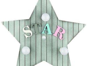 Φωτιστικό Τοίχου Παιδικό Toy-Star 9293 Grey Nowodvorski
