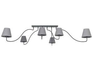Φωτιστικό Οροφής SwIVel VI 6553 Graphite Nowodvorski