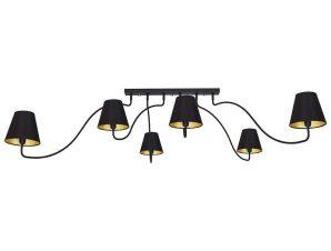Φωτιστικό Οροφής SwIVel VI 6560 Black-Gold Nowodvorski