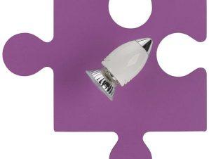 Φωτιστικό Τοίχου Παιδικό Puzzle Rosse I 6383 Pink Nowodvorski