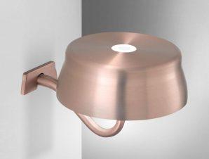 Φωτιστικό Τοίχου-Απλίκα Επαναφορτιζόμενο Led Sister Ld0308R3 Ip65 Copper Zafferano