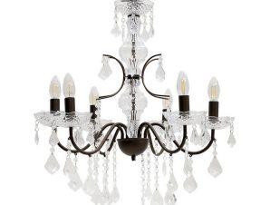 Φωτιστικό Οροφής 3-10-872-0071 60Χ60Χ50 Gold-Black Inart